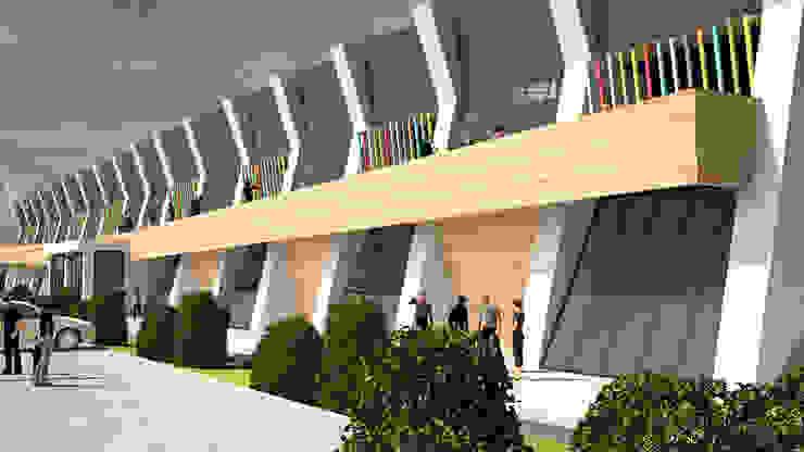 ARCONPROJE Estadios de estilo moderno