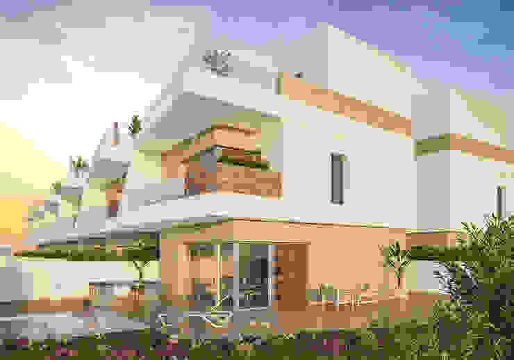 Proyecto de chalet con piscina independiente de ARQUIJOVEN SLP Mediterráneo