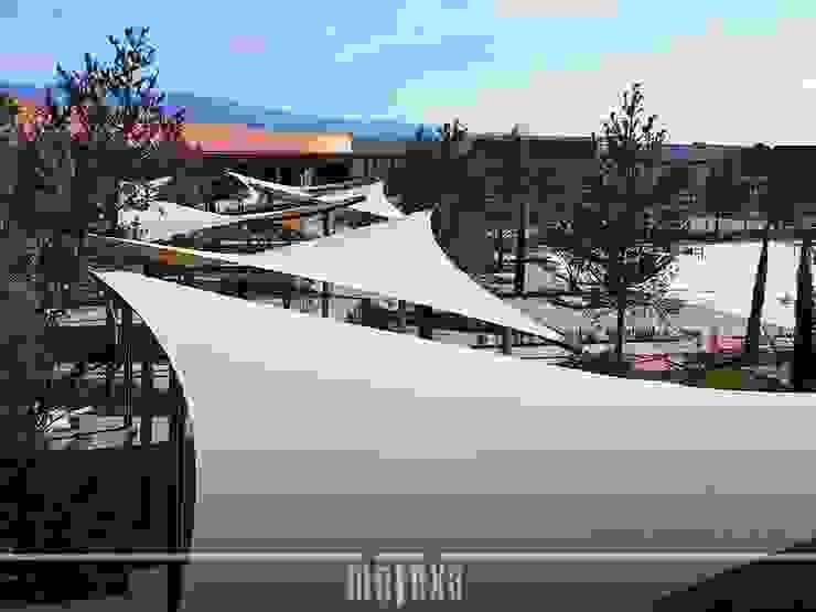 METEXA SAS Garden Greenhouses & pavilions Wood-Plastic Composite
