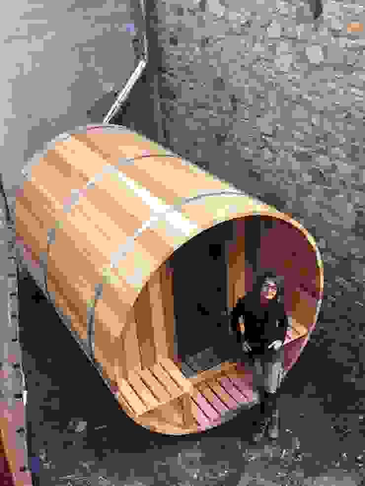 CASÁRBOL Sauna Wood effect
