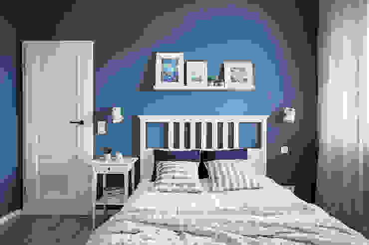 Perfect Space Kamar Tidur Gaya Skandinavia Blue