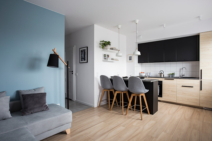 Perfect Space Dapur built in Wood effect
