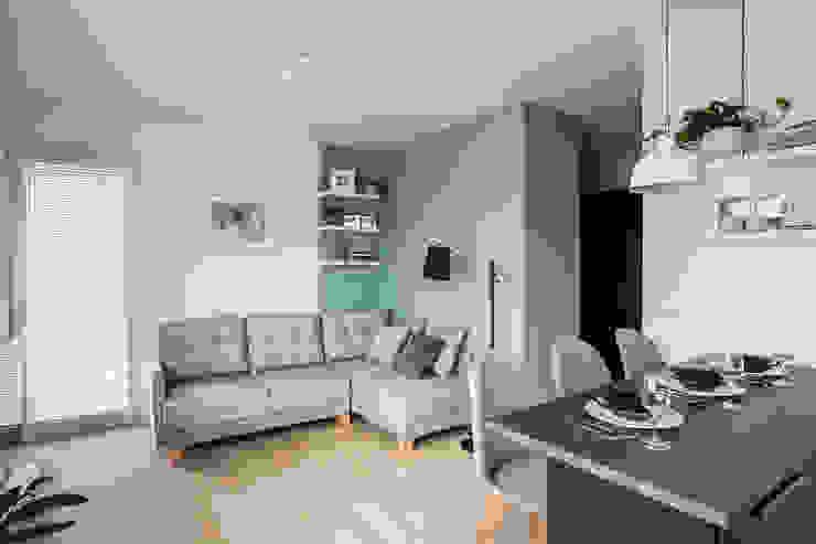 Perfect Space Ruang Keluarga Gaya Skandinavia Blue