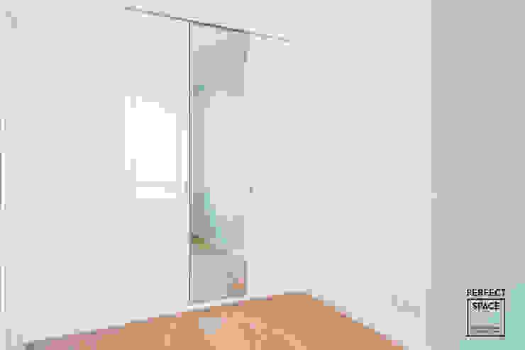 Perfect Space Dinding & Lantai Modern White