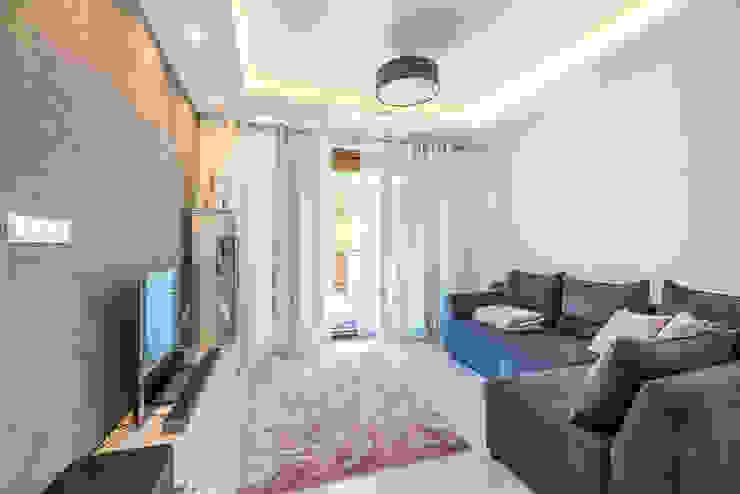 Perfect Space Ruang Keluarga Modern White