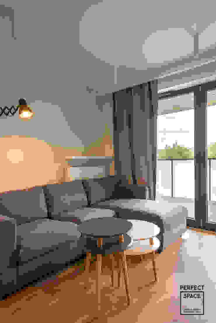 Perfect Space Ruang Keluarga Modern Grey