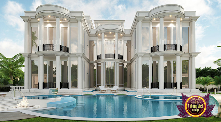 Have the Most Luxurious Exterior Design in Dubai by Luxury Antonovich Design