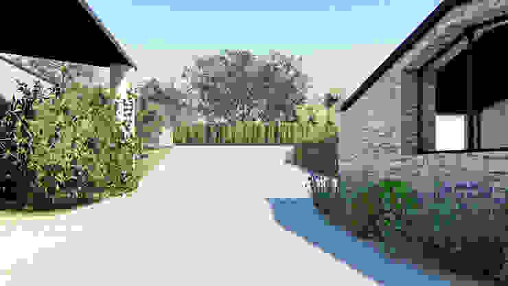 Il vialetto d'accesso carrabile DFG Architetti Associati Giardino rurale