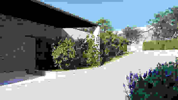 Il vialetto di accesso carrabile DFG Architetti Associati Giardino rurale