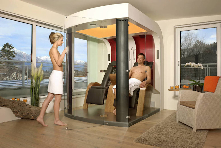 SPA Deluxe GmbH - Whirlpools in Senden Modern Living Room