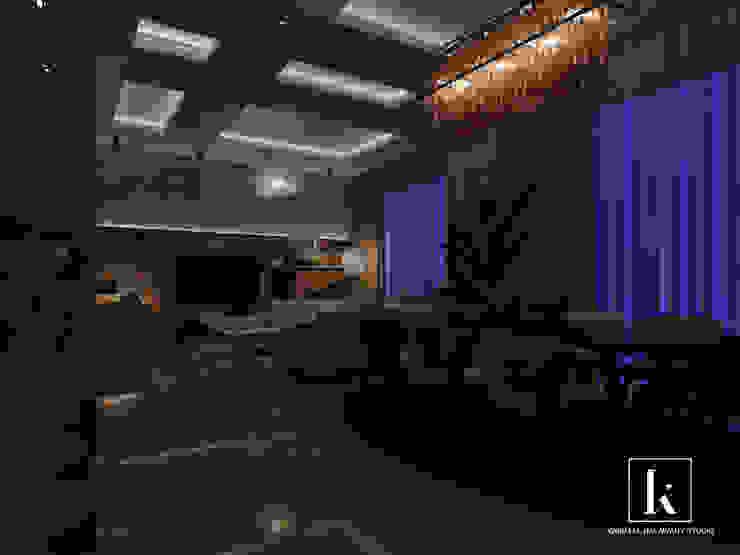 شقة سكنية: حديث  تنفيذ Karim Elhalawany Studio, حداثي