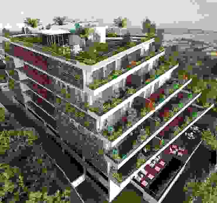 Edificio Sustentável Green Coast Viviane Cunha Arquitetura Casas modernas