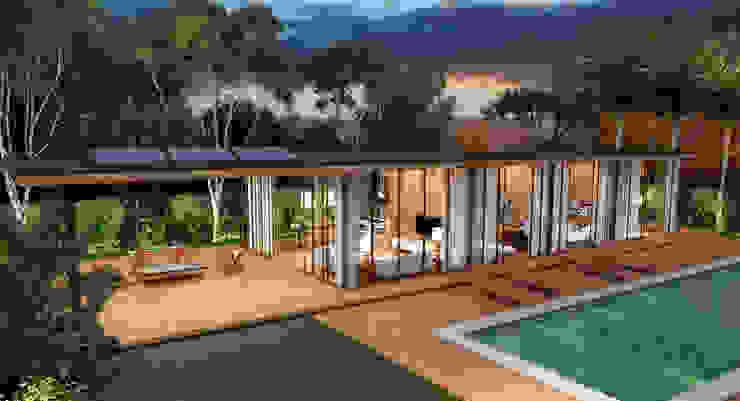 Casa Um Casas modernas por Viviane Cunha Arquitectura Moderno
