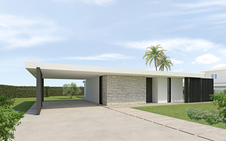 DFG Architetti Associati Maisons modernes