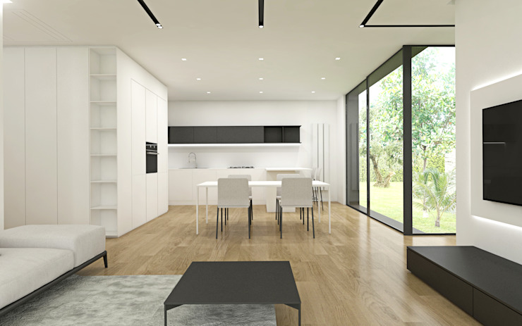 DFG Architetti Associati Salle à manger moderne