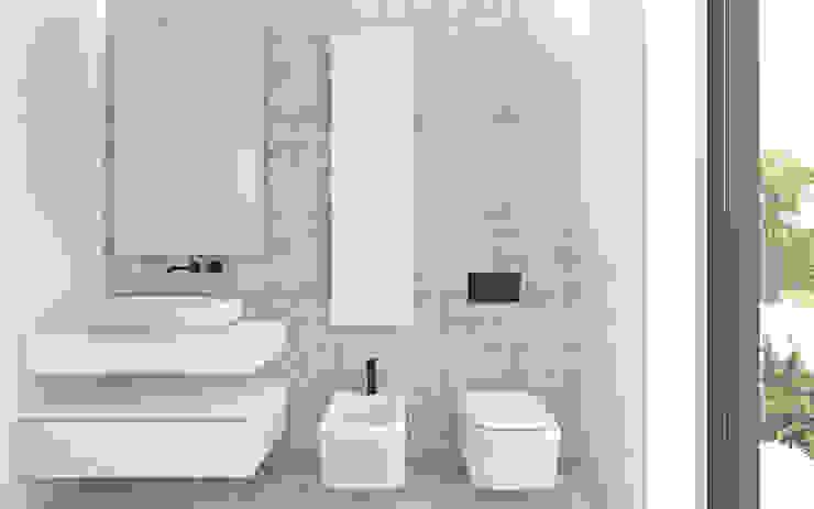 DFG Architetti Associati Salle de bain moderne