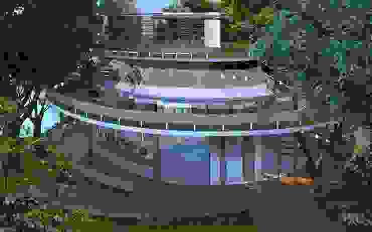 Centro de Referencia Ambiental na Lagoa Rodrigues de Freitas Viviane Cunha Arquitetura Casas modernas