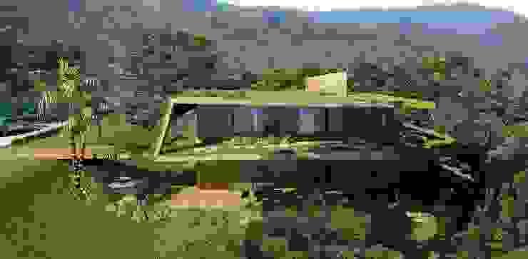Casa DCS Viviane Cunha Arquitetura Casas modernas