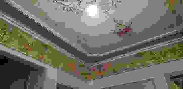 كلاسيكي  تنفيذ الممتاز لديكورات الجبس الماليزي , كلاسيكي مواد مُصنعة Brown