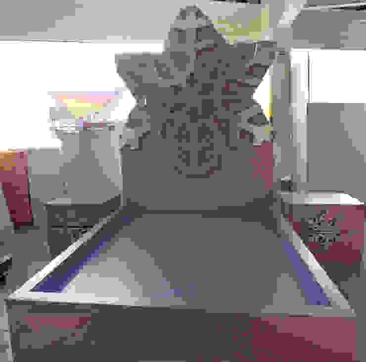 Preciosa cama de copo de nieve de camas y literas infantiles kids world Clásico Derivados de madera Transparente