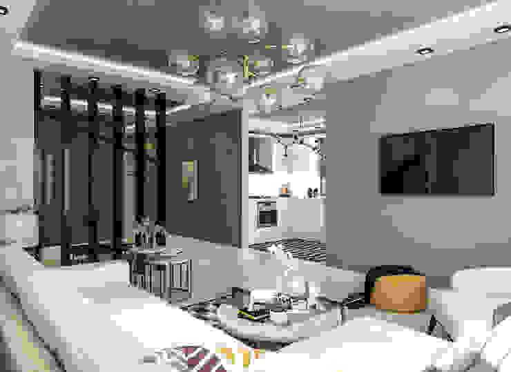 OTURMA ODASI Modern Oturma Odası S+D-esign Modern Ahşap Ahşap rengi