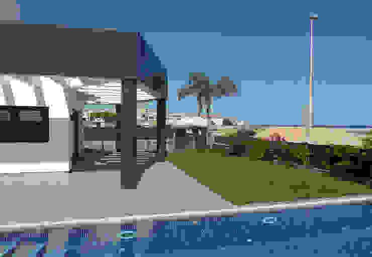 Casa en playa de ARQUIJOVEN SLP Moderno
