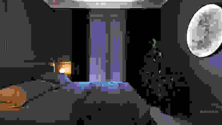 Sypialnia. Ambience. Interior Design Nowoczesna sypialnia od Ambience. Interior Design Nowoczesny