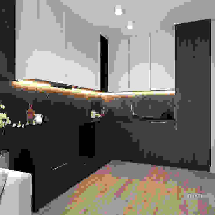 Kuchnia. Ambience. Interior Design Nowoczesna kuchnia od Ambience. Interior Design Nowoczesny