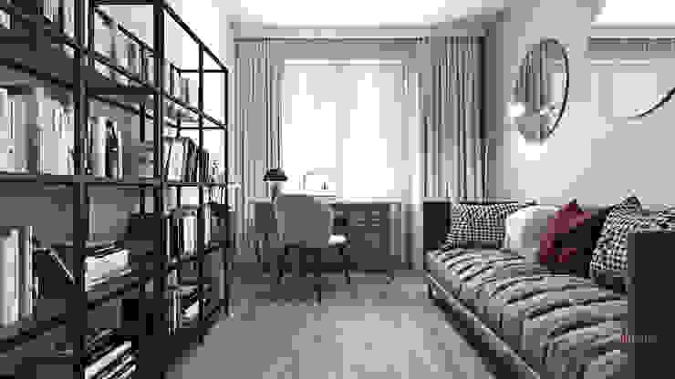 Gabinet. Ambience. Interior Design Nowoczesne domowe biuro i gabinet od Ambience. Interior Design Nowoczesny