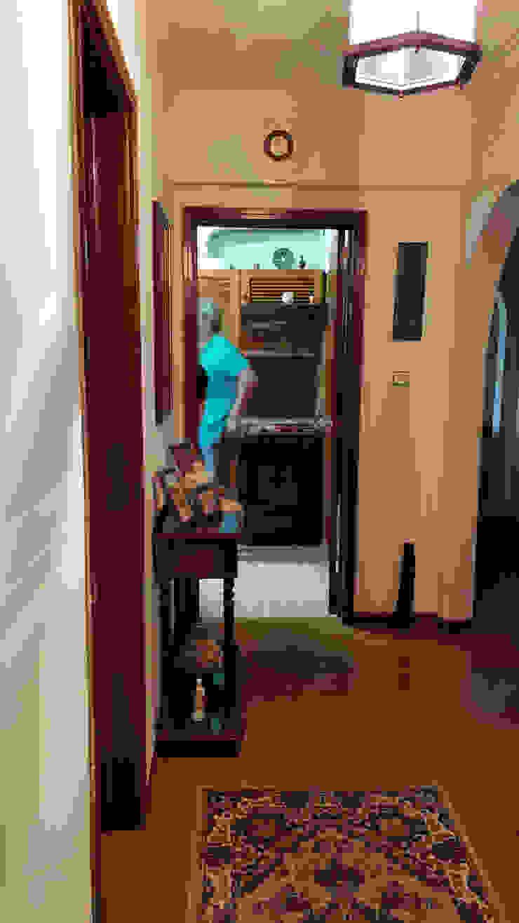 Hall | Antes MUDA Home Design Corredores, halls e escadas escandinavos