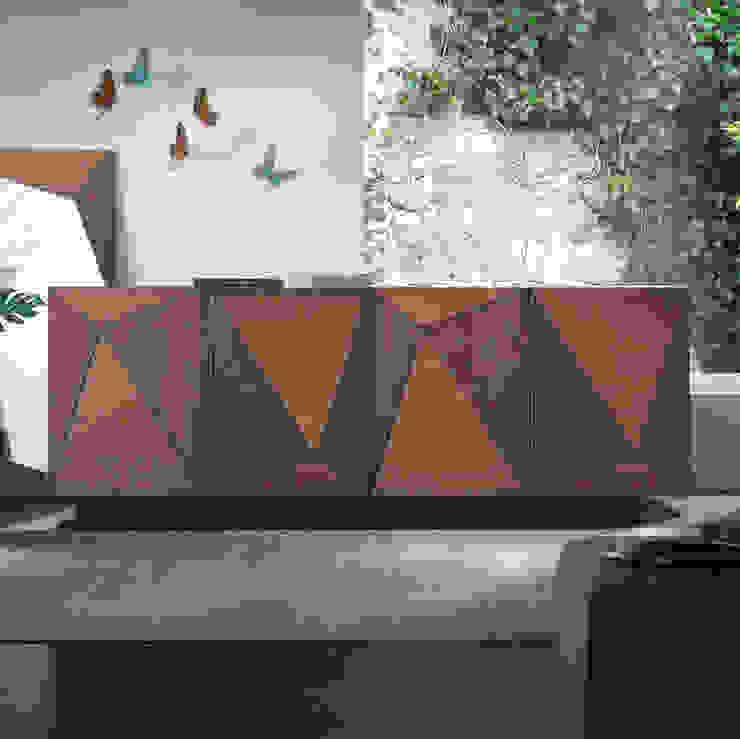 Geometria Soggiorno moderno di Idea Stile Moderno