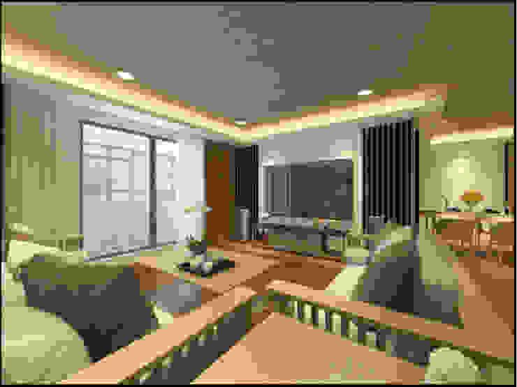 Salon classique par 漫漫發想室內設計 Classique