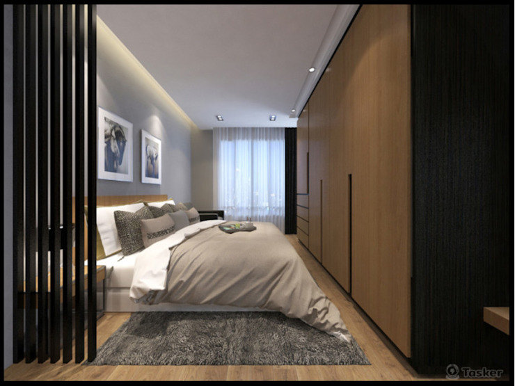 Classic style bedroom by 漫漫發想室內設計 Classic