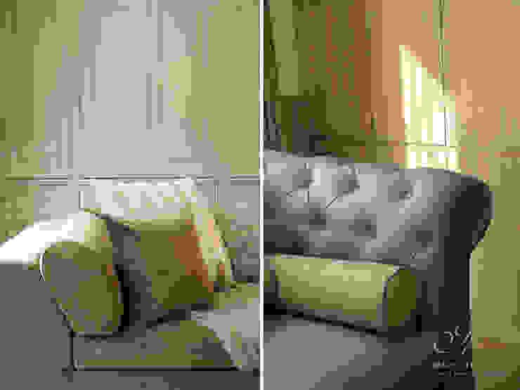 Salas de estar campestres por Marcotte Style Campestre