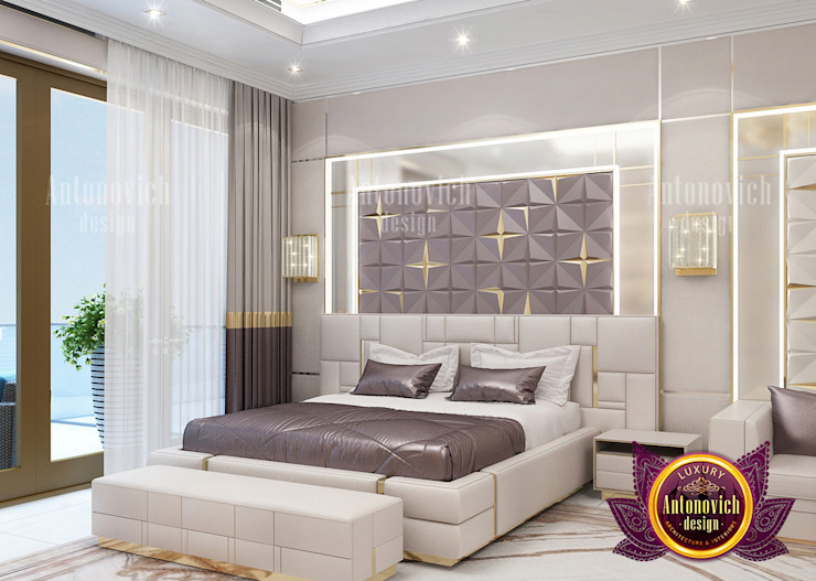The Perfect Bedroom for the Richest by Luxury Antonovich Design