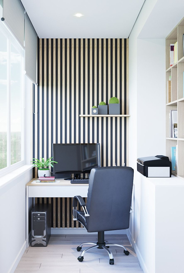 Modern style study/office by Дизайн - Центр Modern