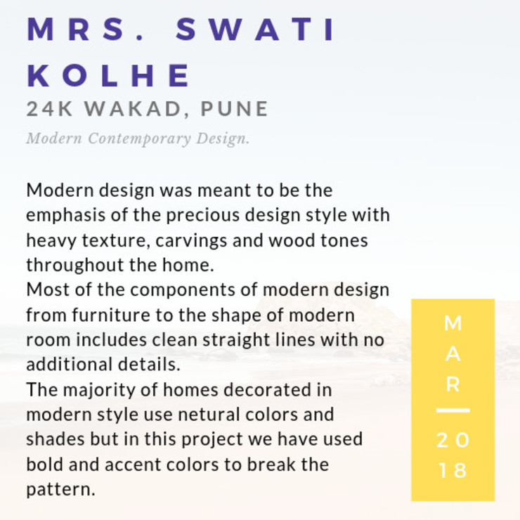 2BHK | 24k Wakad, Pune Eclectic style corridor, hallway & stairs by Nikhil Kanthe Eclectic