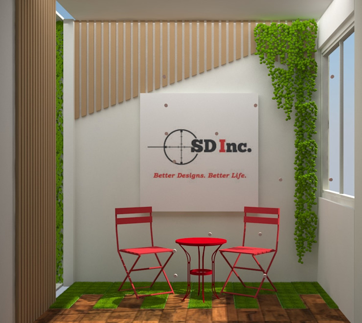 CORPORATE OFFICE SD INC.:  Study/office by SDINCO,Modern