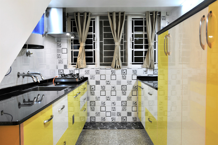 Turnkey Home Renovation Ethic and Classical Classic style kitchen by 3A Architects Inc Classic