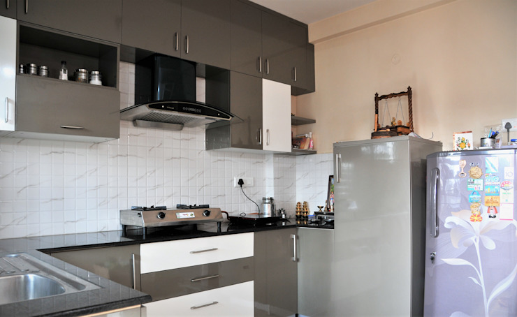 Small Budget Interior Design For A Modern Home In Bangalore Homify Homify