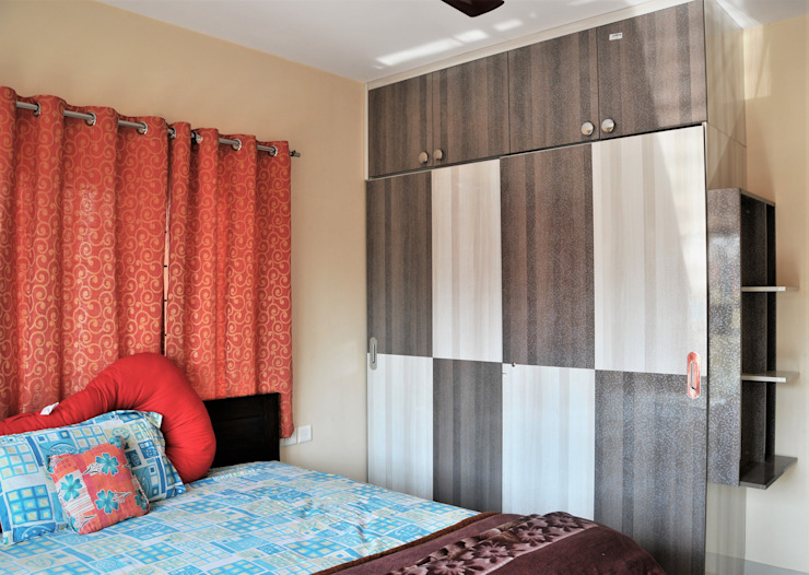 Small budget Interior Design Modern and Minimalistic Modern style bedroom by 3A Architects Inc Modern