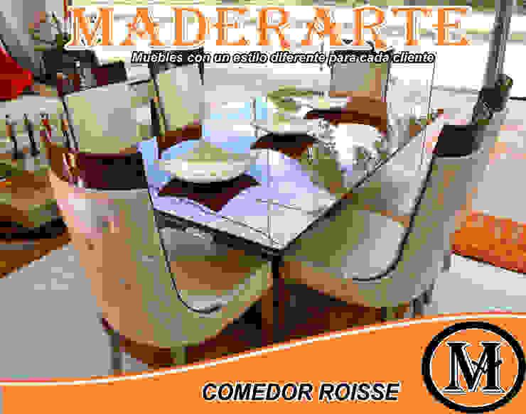 COMEDOR ROISSE de Maderarte Popayán Moderno