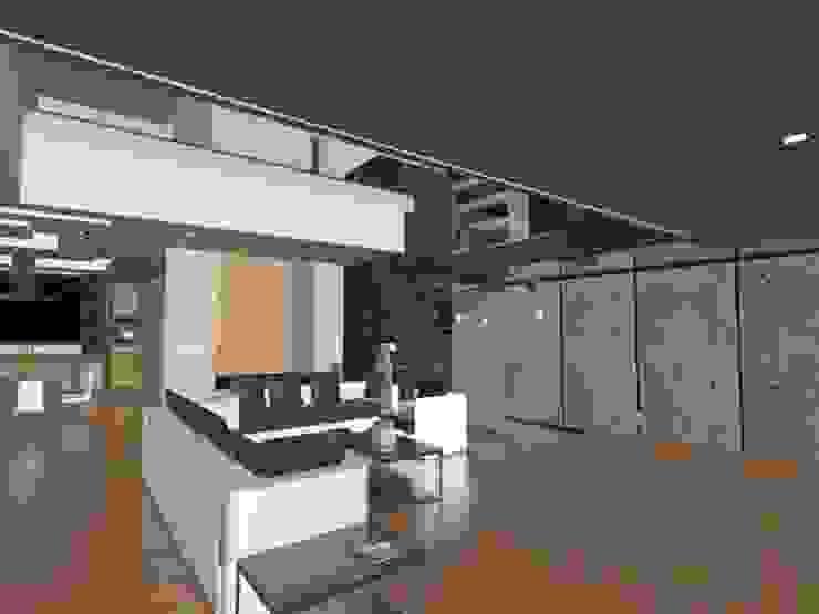 Salas de estar modernas por CESAR MONCADA S Moderno