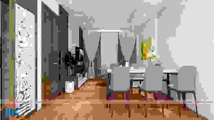 Thiết căn hộ nhà chị Phượng chung cư Sapphire 3, 136 Hồ Tùng Mậu bởi Nội thất Nguyễn Kim