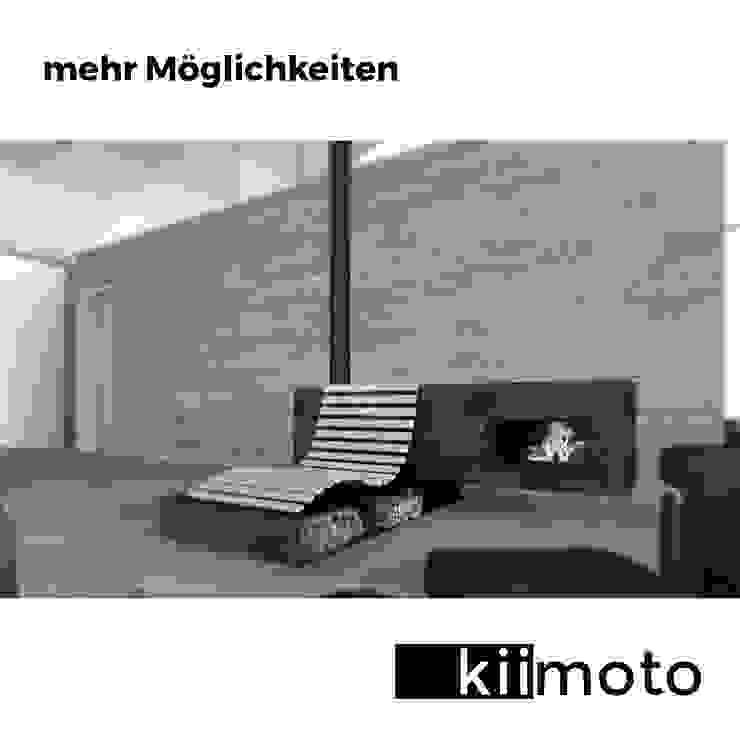 mehr Möglichkeiten:  Wohnzimmer von kiimoto kamine,Klassisch Stahlbeton