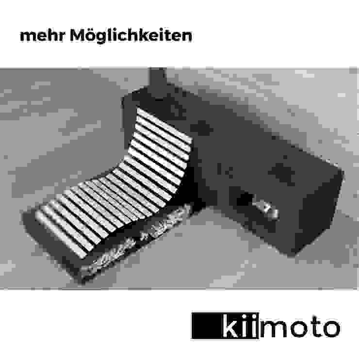 kiimoto kamine SalonesChimeneas y accesorios Hierro/Acero Metálico/Plateado