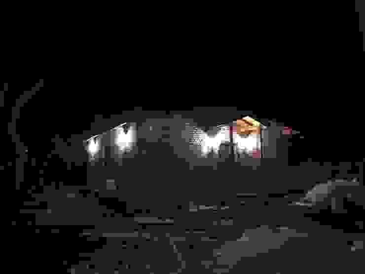 Gece aydınlatması ASK MİMARLIK İNŞAAT Kır evi