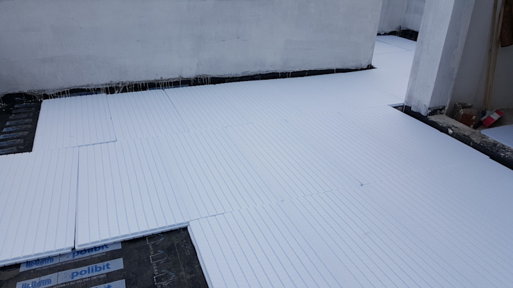 Çatı yalıtımı ASK MİMARLIK İNŞAAT Modern