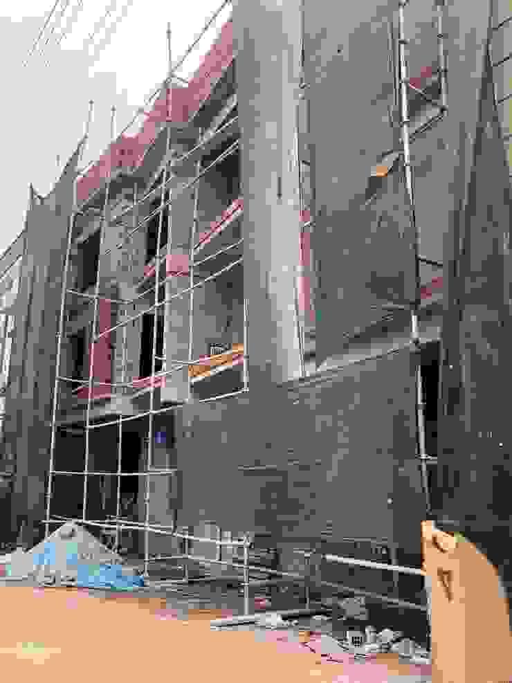 İnşaattan bir kesit Modern Evler ASK MİMARLIK İNŞAAT Modern