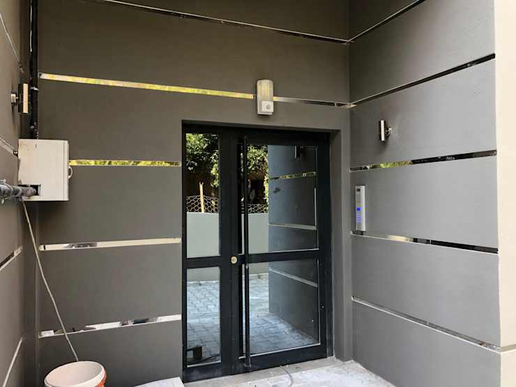 Bina giriş kapısı ASK MİMARLIK İNŞAAT Minimalist